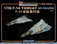 Big Blue Boy 70036 1/700 F-14 Tomcat Detail Up Etching Parts for 24 Aircraft