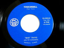 RED DUNCAN AND THE SUNDOWNS~TINKERBELL~IT'S YOUR TURN TO CRY~K B ~ ROCKABILLY 45
