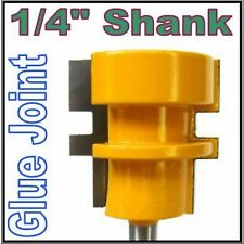 "1 pc 1/4"" Shank  Reversible Glue Joint Carbide Tipped Router Bit sct 888"