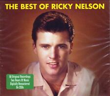 THE BEST OF RICKY NELSON - 56 ORIGINAL RECORDINGS (NEW SEALED 2CD)