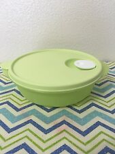 Tupperware Crystalwave Microwave Safe Dish Light Green 4 Cups New