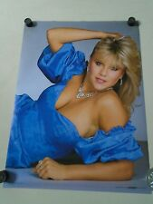 Samantha Fox - Orig. Vintage Poster - Blue dress #8653 / Exc.+New cond. 20 x 28""
