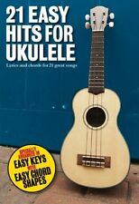 21 Easy Hits For Ukulele Learn to Play 50s 60s 70s Pop Rock Songs UKE Music Book