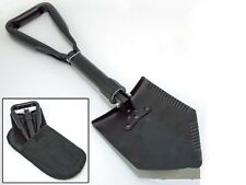 HEAVY DUTY ENTRENCHING TOOL-TRI FOLDING DOUBLE SHOVEL SPADE CAMP SURVIVAL ARMY