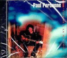CD - PAUL PERSONNE - Comme a la maison