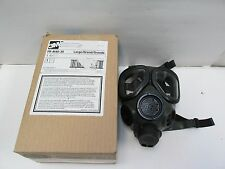 3M FULL FACE PIECE RESPIRATOR MASK FR-M40-30 LARGE NEW IN BOX DUAL PORT GAS