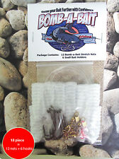 Catfish, 18 piece bait holder~  BOMB-A-BAIT™ (Catch More Fish!)