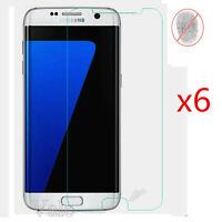 6x Matte Anti Glare Screen Protector Shield Film Fr Samsung Galaxy S7 Edge G9350