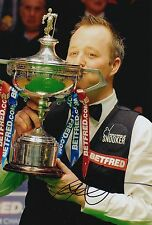JOHN HIGGINS HAND SIGNED 12X8 SNOOKER PHOTO WORLD CHAMPION PROOF 3.