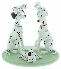 Disney Magical Moments 101 Dalmations One Big Happy Family Figurine 13cm DI188