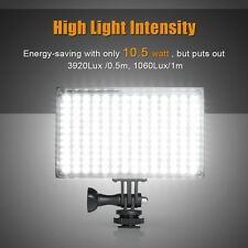 Pergear Light Kit LED Video Light on camera Dimmable Light Panel + Battery Pack