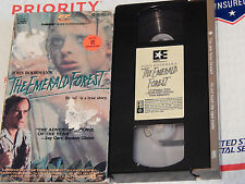 The Emerald Forest (VHS, 1989) John Boorman - Powers Boothe) Free Ship.)