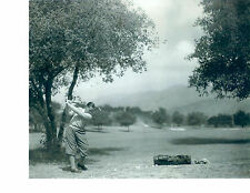 CLASSIC SWING BOBBY JONES BEAUTIFUL  8X10 PHOTO PGA HOF USA  GOLF