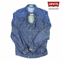 Vintage Levis Engineered Denim Jacket Various Colours XS,S,M,L,XL,XXL