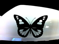 Butterfly Girl Car Stickers Wing Mirror Styling Decals (Set of 2), Black