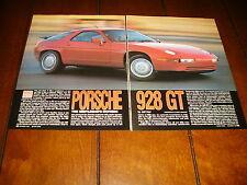 1990 PORSCHE 928 GT  ***ORIGINAL ARTICLE / SPECIFICATIONS***