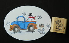 Stampin up rubber stamp SNOWBALLS for sale WINTER SNOWMAN Loads of Love FUN su