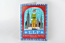 Elf Christmas Card! Will Ferrell, Zooey Deschanel, Buddy Elf, Peter Dinklage, NY