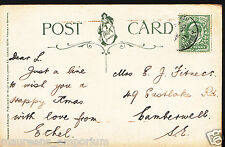 Genealogy Postcard - Family History - Fitness - Eastlake Rd, Camberwell BH6583