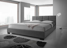 New King Size Bed Frame - Light Grey(CFF2-4)