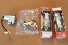 Harley Panhead Early Shovelhead Tune up kit Points Condensor and Plugs (227)