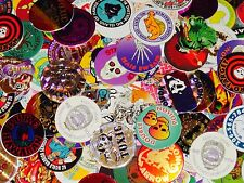 "1000 Pogs With 20 Slammers And Four (4) 6"" Tubes * Nice Starter Set"
