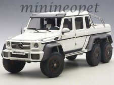 AUTOart 76303 MERCEDES BENZ G63 6X6 1/18 MODEL CAR MATTE WHITE