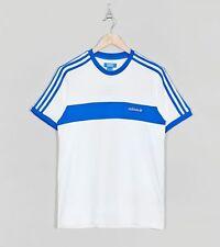 Adidas X Tamaño? Blanco y Azul Camiseta Camiseta Grande De Hamburgo Edición Limitada DEADSTOCK
