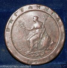 Uk Large coin Almost 2 ounces ! Great Britain 2 Pence 1797