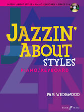 Jazzin About Styles with CD Piano Solo Learn to Play SONGS FABER Music BOOK & CD