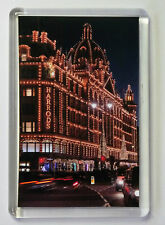 HARRODS LONDON  FRIDGE MAGNET- FREE Postage