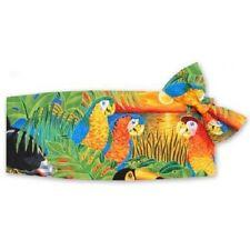Parrots in Paradise Cummerbund and Bow Tie Set