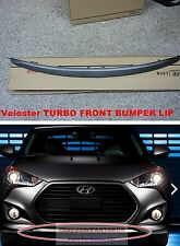 2012 ~ HYUNDAI VELOSTER TURBO FRONT BUMPER LIP GENUINE PART UNPAINTED