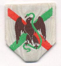Ruban de la médaille pour l'expédition du Mexique 1862 - 1863
