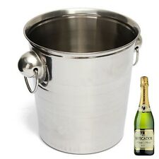 Bar Tool Wine Cooler Ice Bucket Drink Beer Wine Champagne Cooler Stainless Steel