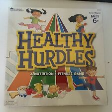 Learning Resources Healthy Hurdles Health and Nutrition Game