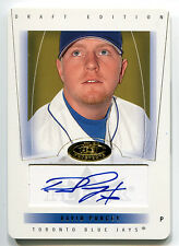 2004 Fleer Hot Prospects DAVID PURCEY Auto Die Cut RC Rare Blue Jays SP /61