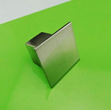 Square Stainless Steel SS Brushed Kitchen Cabinet Door Drawer Handle Pull Knobs