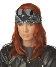 Hollywood Rocker Axl Rose Bret Michaels Adult Costume Wig