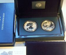 2013 W American Silver Eagle West Point Set Pristine Condition with Box and Coa