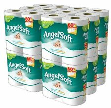 Angel Soft 48 Double Rolls Toilet Paper Tissue Bathroom Toiletry, Free Shipping