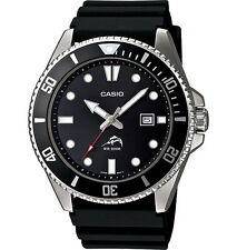 Casio MDV106-1A, Analog Watch, Black Resin Band, Date