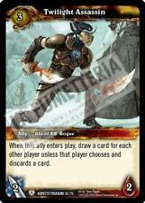 ☺ WOW TCG TWILIGHT ASSASSIN 53/75 BATTLE OF THE ASPECTS FOIL INGLESE