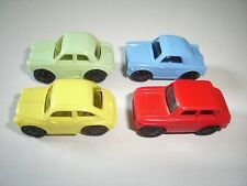 EUROPEAN CLASSIC MODEL CARS 1960's SET 1:87 - KINDER SURPRISE PLASTIC MINIATURES