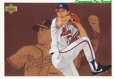 041 STEVE AVERY PP ATLANTA BRAVES  BASEBALL CARD UPPER DECK 1992