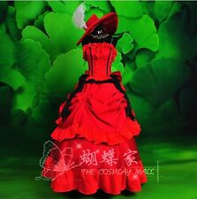 BLACK BUTLER MADAME RED Lolita Cosplay costume