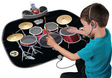 Gigantic Folding Drum Kit Playmat for Party Dance Xmas Games Kids Musical Mat