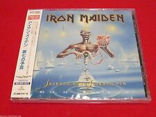 IRON MAIDEN - Seventh Son Of A Seventh Son - JAPAN CD - WPCR-80020
