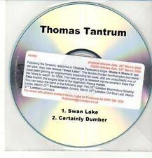 (DD161) Thomas Tantrum, Swan Lake / Certainly Dumber - 2008 DJ CD