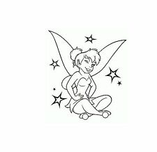 "TINKER BELL  '""DISNEY'"" Vinyl Decal Sticker Home Car Bike Laptop"